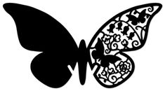 I just uploaded the parts to make you own glass lander butterfly as well as the finished one i made in the Webinar January 2013 in the make the cut… Butterfly Stencil, Butterfly Drawing, Butterfly Template, Butterfly Crafts, Butterfly Flowers, Butterfly Mobile, Flower Template, Diamond Template, Crown Template