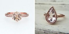 15 Romantic Morganite Engagement Rings