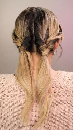 Pin on Peinados Easy Hairstyles For Long Hair, Pretty Hairstyles, Summer Hairstyles, Half Pony Hairstyles, Braided Hairstyles For Long Hair, Hairstyles For Girls, Banana Clip Hairstyles, Bandana Hairstyles For Long Hair, School Hairstyles For Teens