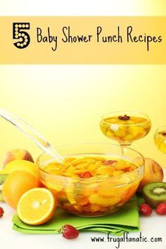 5 Baby Shower Punch Recipes you need to try!