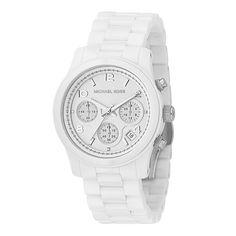 4d873eb61338 Michael Kors watch  lt 3 White Michael Kors Watch