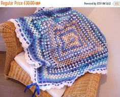 Hey, I found this really awesome Etsy listing at https://www.etsy.com/uk/listing/266219493/crochet-granny-square-blue-baby-blanket