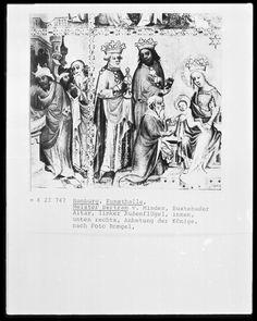 Buxtehuder Altar, circa 1395-1400, Meister Bertram von Minden