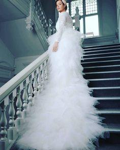 Tiered bridal skirt  www.ThingsIAdore.com