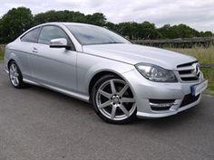 used Mercedes C220 CDI BLUEEFFICIENCY AMG SPORT in surrey