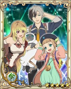 Tales of Xillia 2 - Ludger, Milla, and Elle