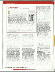 Misconduct's Starred Review in Publisher's Weekly!! Sayings, Lyrics, Word Of Wisdom, Quotations, Qoutes, Proverbs