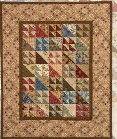 Free civil war quilt patterns and quilt blocks: Vintage Chains Quilt Pattern This is a quilt pattern with prints that were popular during the Civil War era. Description from patternquilti.com. I searched for this on bing.com/images