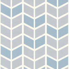 Papier peint expansé sur intissé à motif Picot Bleu - CASTORAMA