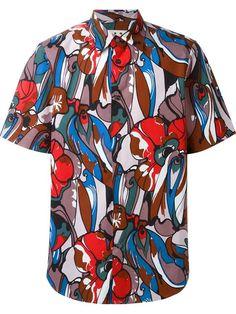 MARNI Floral Print Shirt. #marni #cloth #shirt