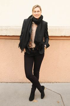 street look french blogger Artlex / fashion blog /snake style accessory