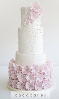 Featured Cake: COCO Cakes Australia; Wedding cake idea.