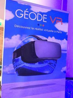 Le parcours VR à la Géode