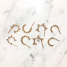 Hoop earrings!  Choose your Favs