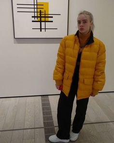 Now we offer billie eilish yellow jacket with riversable feature in puffer material, available with such an amazing price order now from our online store… Billie Eilish, Rare Pictures, Rare Photos, Indie, Celebrity Outfits, Celebs, Celebrities, Baby Daddy, American Singers