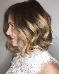 Gold and beige balayage by Chris Weber