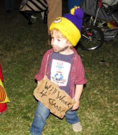 Homeless Hank -- Some very hilariously wrong Halloween costumes for kids