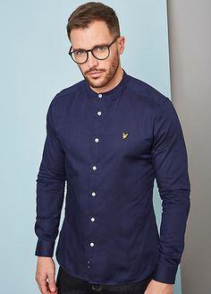 How to Wear Grandad Collar Shirt? Grandad Collar Shirt, Grandad Shirts, Collared Shirt Outfits, Collar Dress, Shirt Dress, Banded Collar Shirts, Mandarin Collar Shirt, Fall Shirts, Chef Jackets