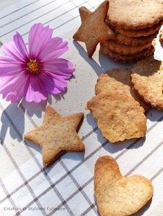 Ils ont toujours la cote les biscuits sans gluten! Pour changer des cookies sans gluten ou des biscuits muesli -mes valeurs sûres- je tente régulièrement d'autres recettes, aujourd'hui les galettes sans gluten à la farine de châtaigne.