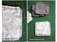 Comment faire ses lingettes écolo ? Cliquez sur l'image Lotion, Creations, Scrap, Crochet, Diy, Passion, France, Nails, Happy