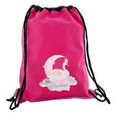 Personalised Swim & Kit Bag - Swan Lake
