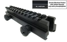 Monstrum Tactical Medium Profile Picatinny Riser Mount 08 H x 57 L for Scopes and Optics -- Continue to the product at the image link.