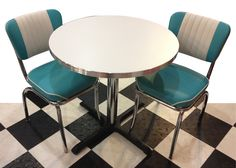 Kitchen Dinette Sets, Dining Chairs, Retro, Table, Furniture, Home Decor, Decoration Home, Room Decor, Dining Chair