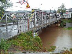 Bridge in Tarnaveni City,Mures County,Romania,Europe