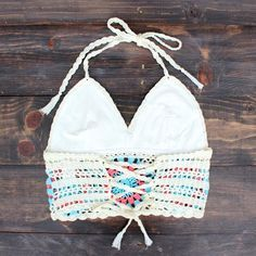 urban festival crochet crop top - shophearts - 2