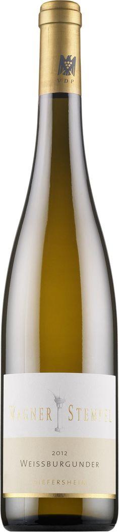 Wagner Stempel Siefersheimer Weissburgunder 2012 Wine, Drinks, Bottle, Stamps, Beverages, Flask, Drink, Beverage, Jars