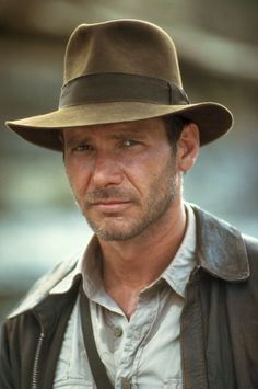 Harrison Ford in Indiana Jones and the Temple of Doom... *breathless sigh*