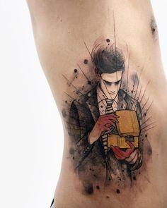 Tatuagem criada por Felipe Mello do Rio de Janeiro.