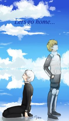Kaneki and Hide Omg saddest scene in this anime,I cried for real. In fact.this is the only anime I've ever cried at.