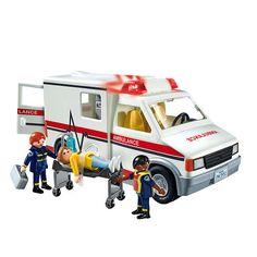 Playmobil Rescue Ambulance $20