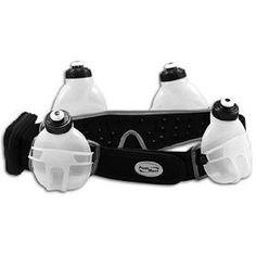 Fuelbelt Revenge Black 4 Bottle Belt, (fuel belt, running, water belt, running belt, triathlon, womens, hydration belt, water bottle, exercise, cycling) clothing-accessories fitness
