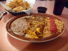 El Fenix enchiladas are the best in the world