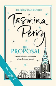 The Proposal by Tasmina Perry. I have a couple of films I watch every year at Christmas. This is my Christmas book. Wonderful read.