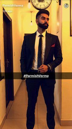 Parleen Kurta Pajama Punjabi, Kurta Pajama Men, Punjabi Men, Punjabi Models, Parmish Verma Beard, Badass Beard, Boys Dpz, Famous Singers, Bollywood Stars