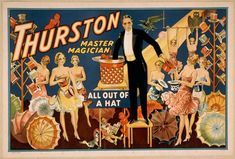 The Great Magician  Thaumaturgist - a magician