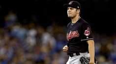 The Cleveland Indians will pitch Trevor Bauer on Wednesday night when they take on the Chicago Cubs in Game 2 of the World Series, but the team's pitcher got a gag gift from Cubs fans before he takes the mound.