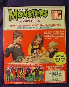 Famous monsters And Creatures Playset (1970s)