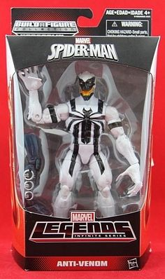 "Marvel Legends Anti-Venom 6"" Action Figure BAF Hobgoblin Spider-Man Series Toy #Hasbro"