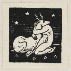 Bookplate for Nancy Lee Rockwell Kent, American, 1882 - 1971 Rockwell Kent, Norman Rockwell, Botanical Illustration, Illustration Art, Art Deco Cards, Handpoke Tattoo, Linoprint, Ancient Art, Tarot