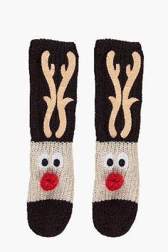 Christmas Slipper Socks In A Box | linen_christmas | Pinterest ...