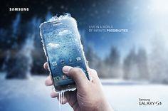 Samsung Galaxy S5 on Behance