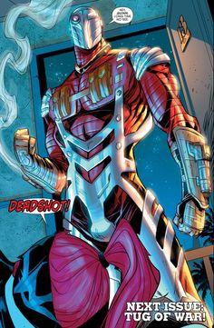 Deadshot in Harley Quinn Deadshot Comics, Floyd Lawton, Final Fantasy Cloud, Hq Dc, Dc Characters, Comic Books Art, Comic Art, Book Art, Comic Styles