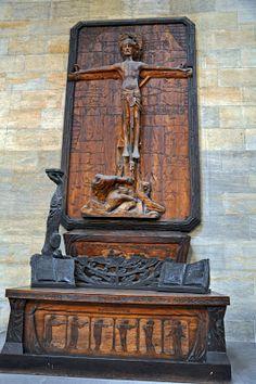Crucifix in St. Vitus Cathedral, Prague Castle