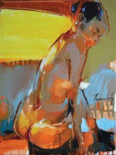"""Saatchi Art Artist Iryna Yermolova; Painting, """"Lima"""" #art"""