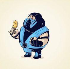 Fat Pop Culture Illustration | Artist: Alex Solis
