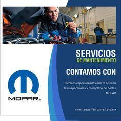 A través de nuestra área de servicio, nuestros técnicos especializados te ofrecen las inspecciones y reemplazo de partes originales MOPAR® que tu vehículo necesita para un mantenimiento de la más alta calidad.